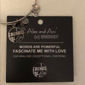 ALEX AND ANI Fascinate Me With Love bangle